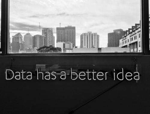 Waarde toevoegen is data delen